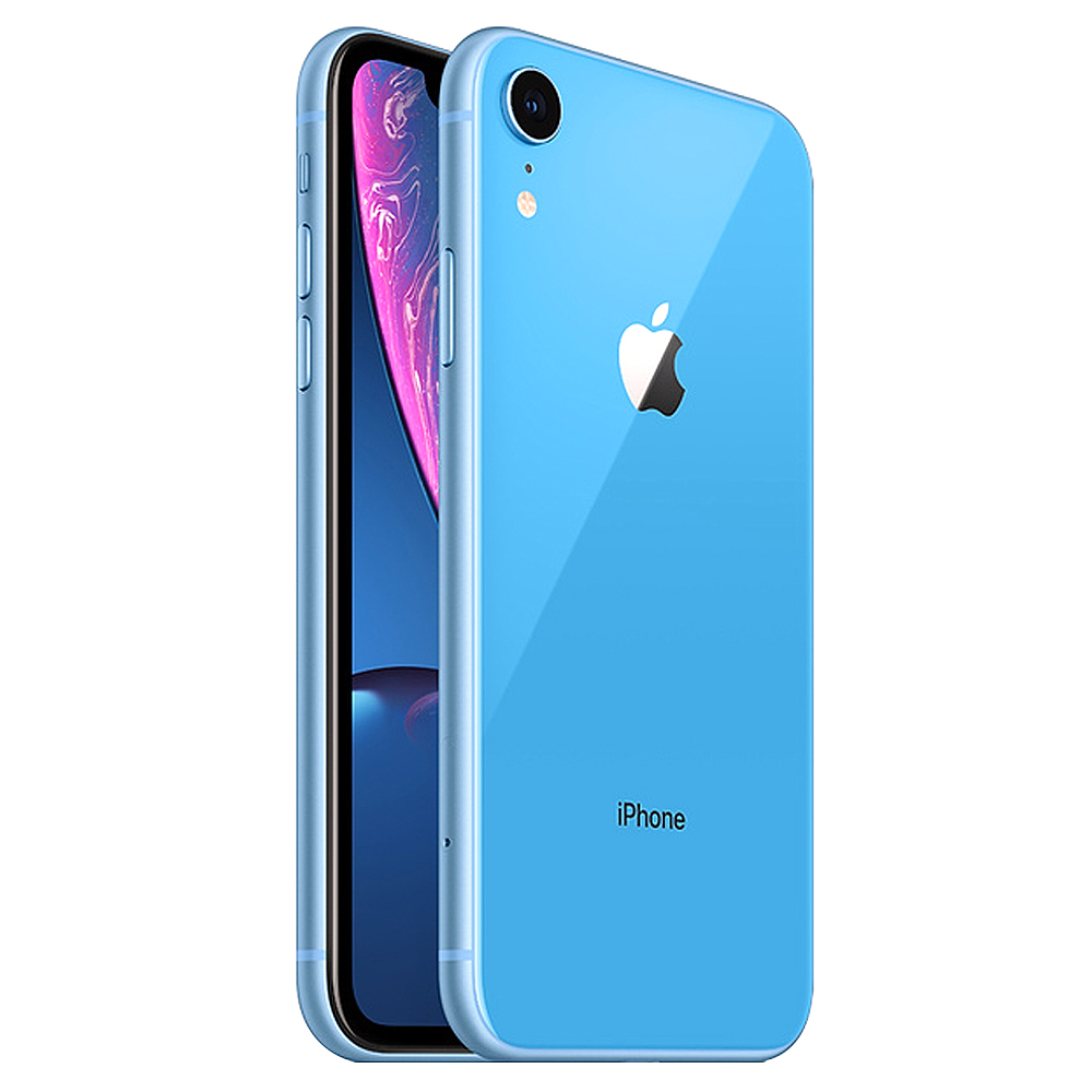 Apple 아이폰 XR 6.1 디스플레이, 공기계, 블루, 128GB