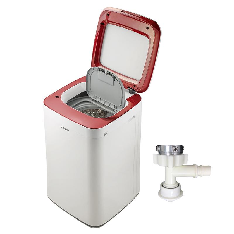 루컴즈 살균세탁기미니 W032K01-W 3.2kg 방문설치 + T밸브