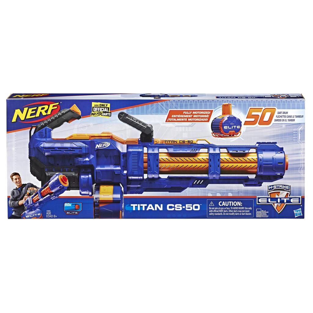 너프 엘리트 타이탄 장난감총, 혼합 색상