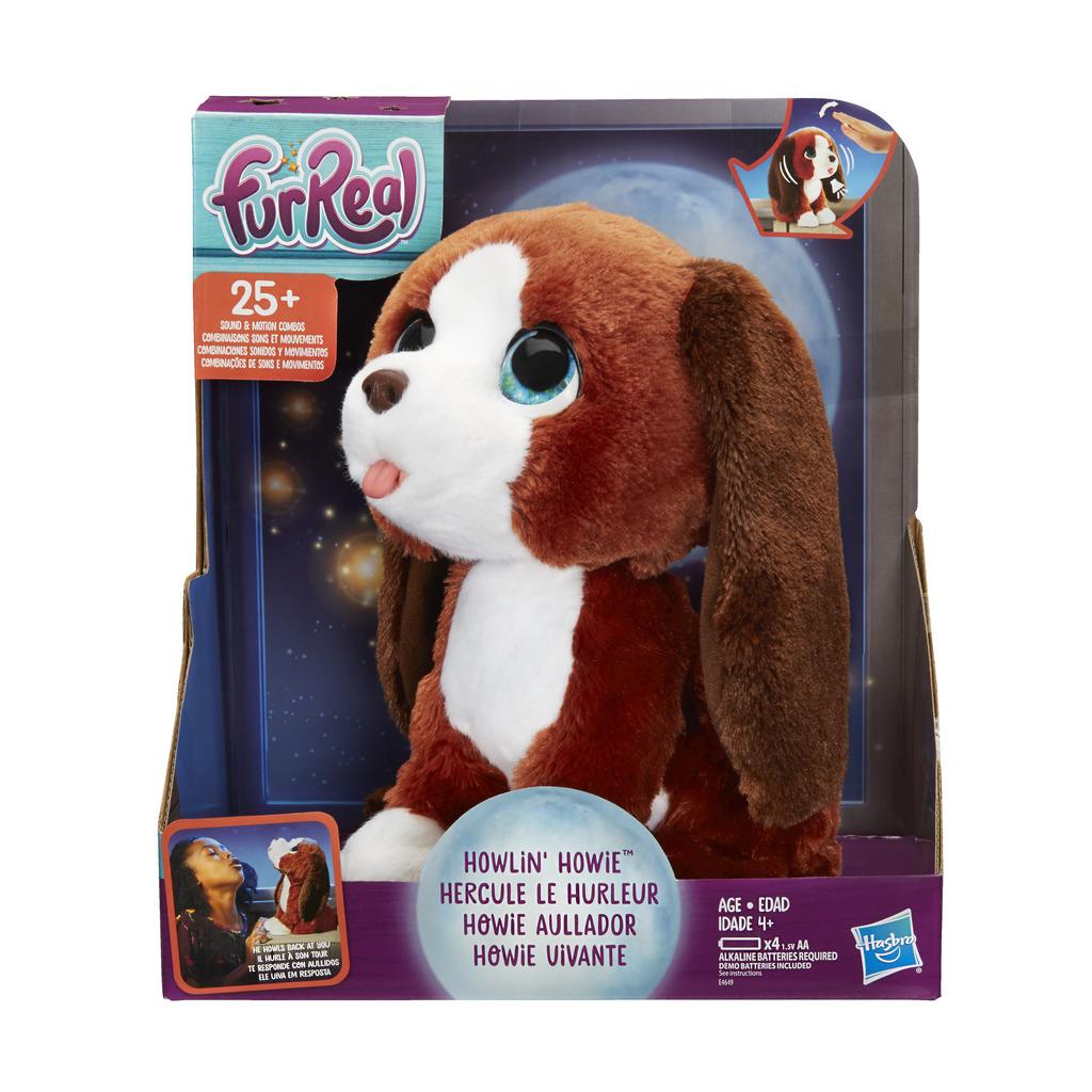 퍼리얼 노래하는 강아지 하위 인형, 23cm, 혼합 색상