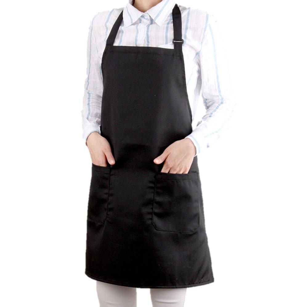 COVING 카페 앞치마, 블랙, 1개