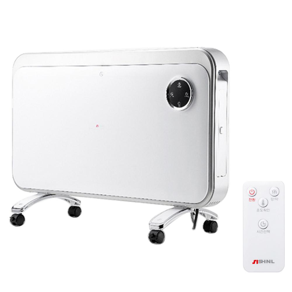신일 스탠드 벽걸이겸용 리모컨 컨벡터히터, SEH-PA3001WS
