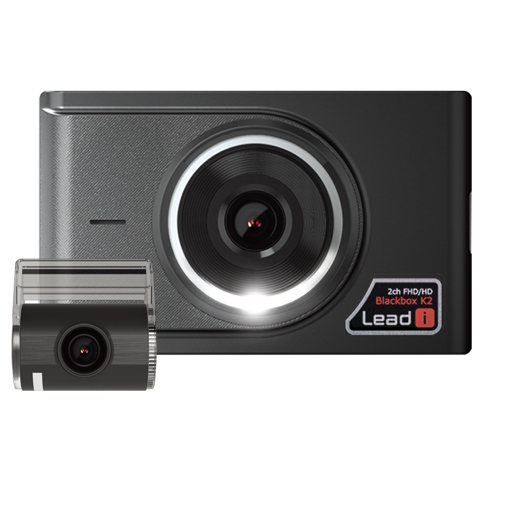 리드아이 K2 2채널 FHD 블랙박스 64GB Lead i K2