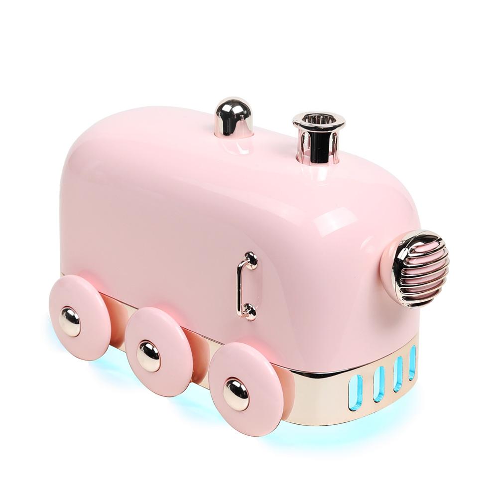 무아스 무드등 기차 가습기 핑크, MH-S3