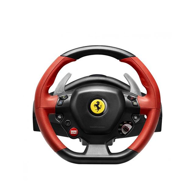 트러스트마스터 페라리 458 스파이더 XBOX용 레이싱 휠, Ferrari 458 Spider Racing Wheel, 1개