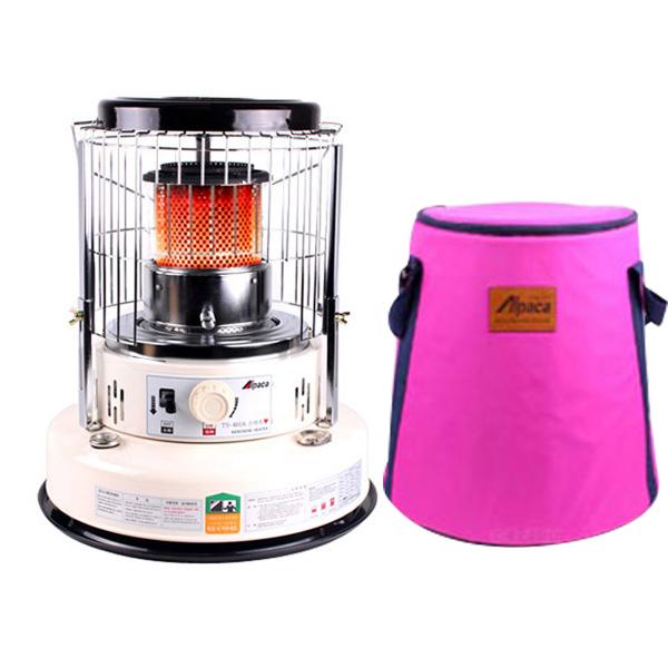 알파카 석유히터 스마트 TS-460A + 핑크 수납 가방