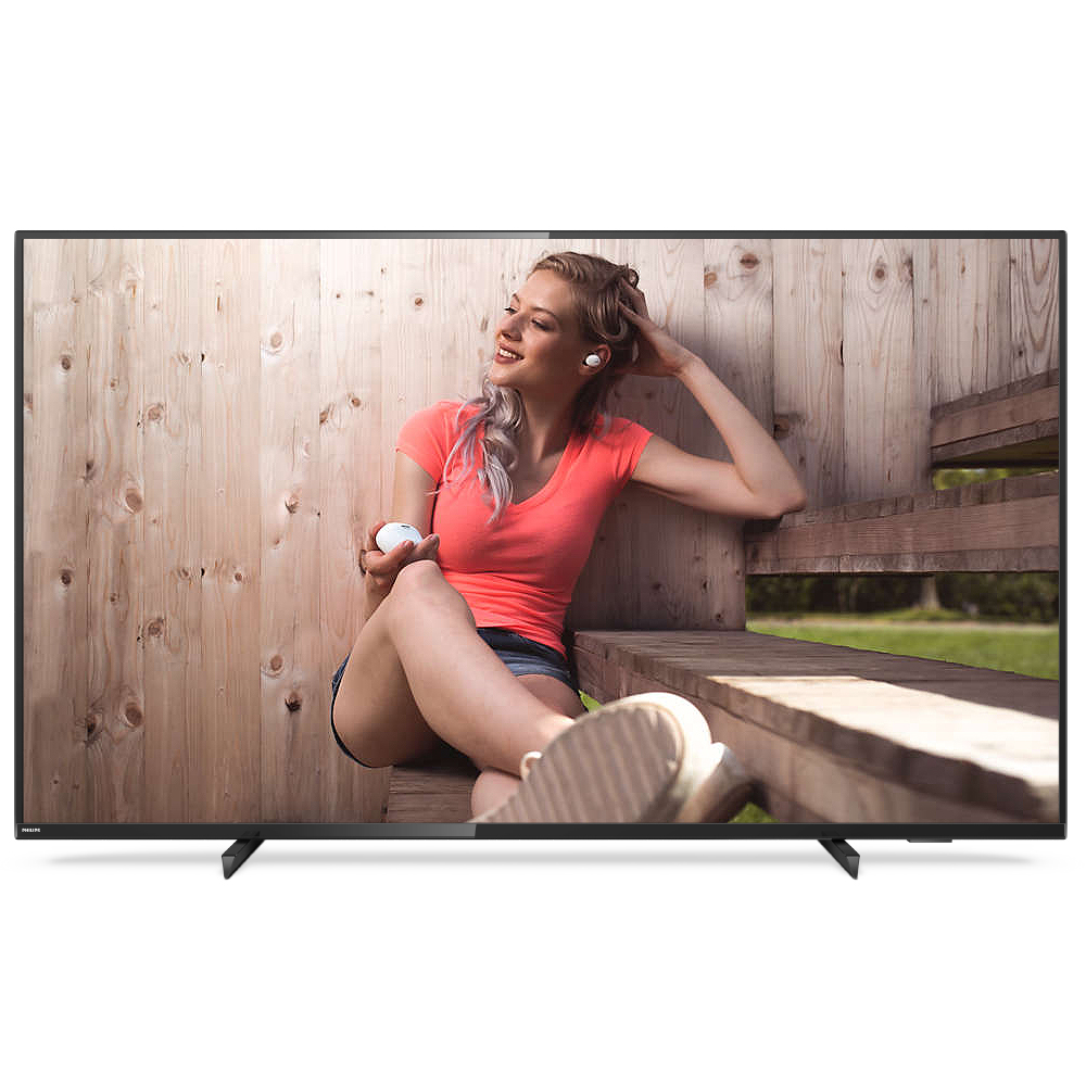 필립스 4K UHD 165cm 스마트 TV 65PUN6784, 스탠드형, 방문설치