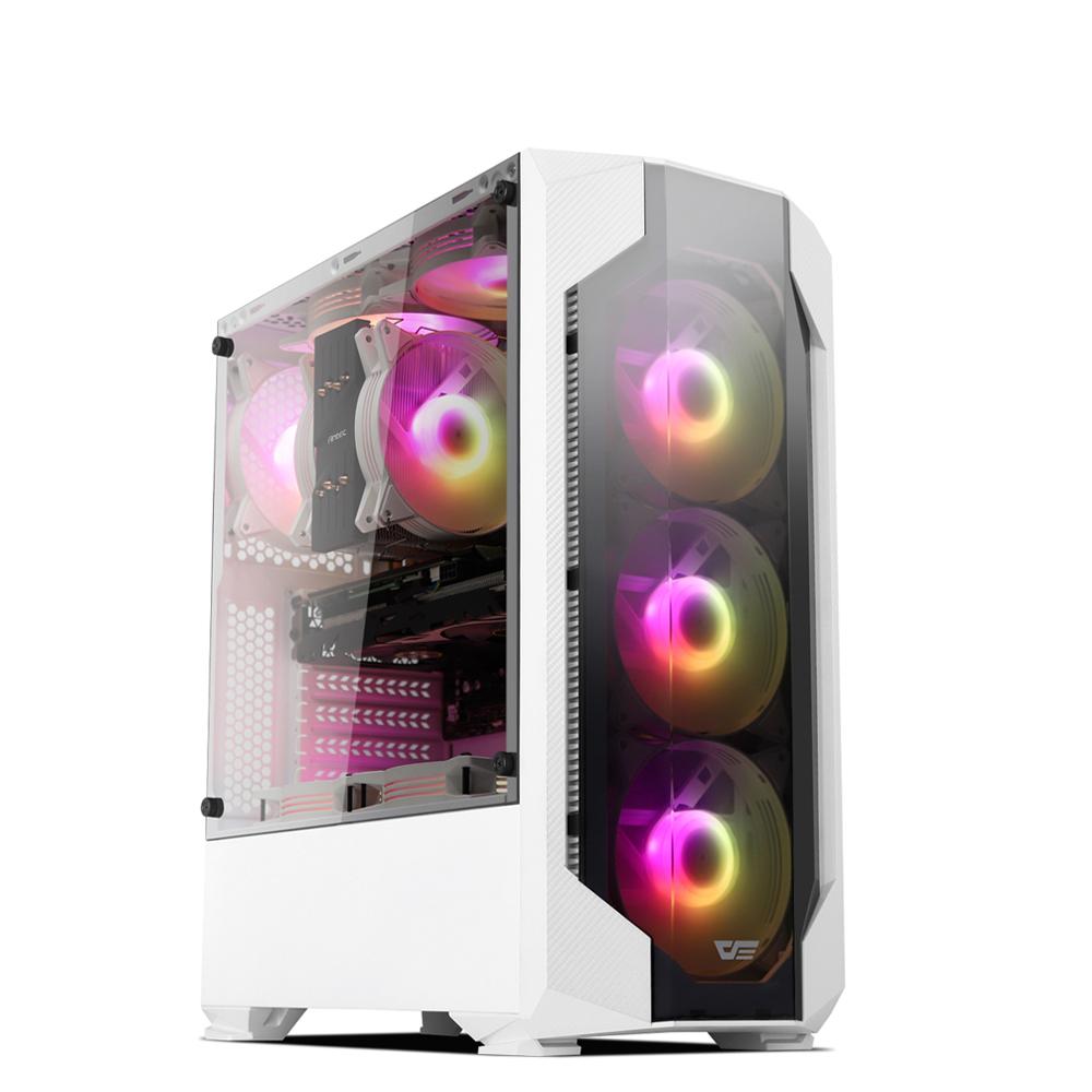 프리플로우 HOME GAMING 976RTX 슈퍼 화이트 게이밍 PC SG-500D12S(인텔 i7-9700 삼성 16GB RTX2060 SUPER 8GB 250GB NVMe WIN미포함), SG-500D12S, 기본형
