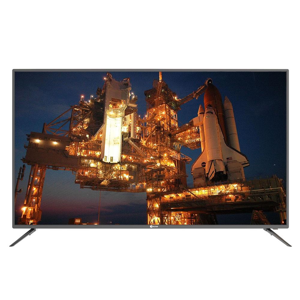 아남 UHD LED 165cm TV ACD65U, 스탠드형, 방문설치
