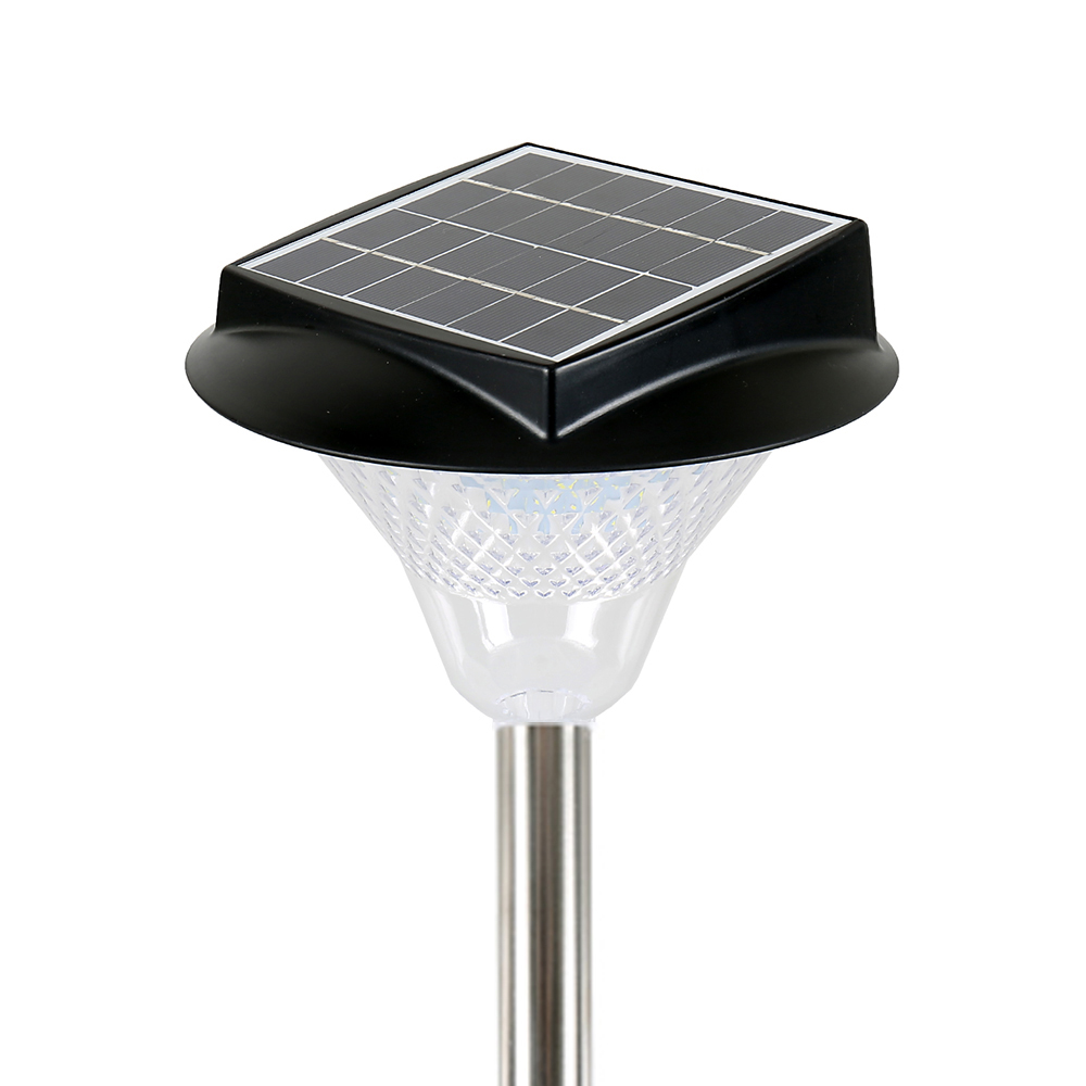 128 LED 태양광 정원등 DNS-SLG69, 화이트