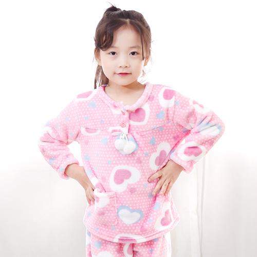 키즈라인 아동용 파스텔 수면잠옷