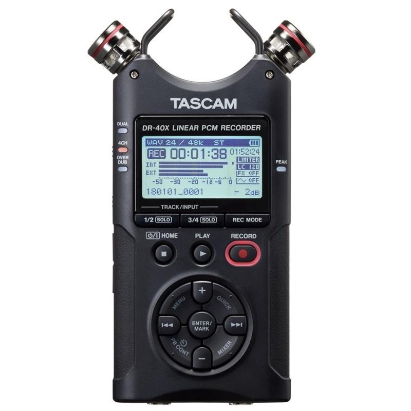 타스캠 프로용 휴대용 레코더, DR-40X, 혼합 색상