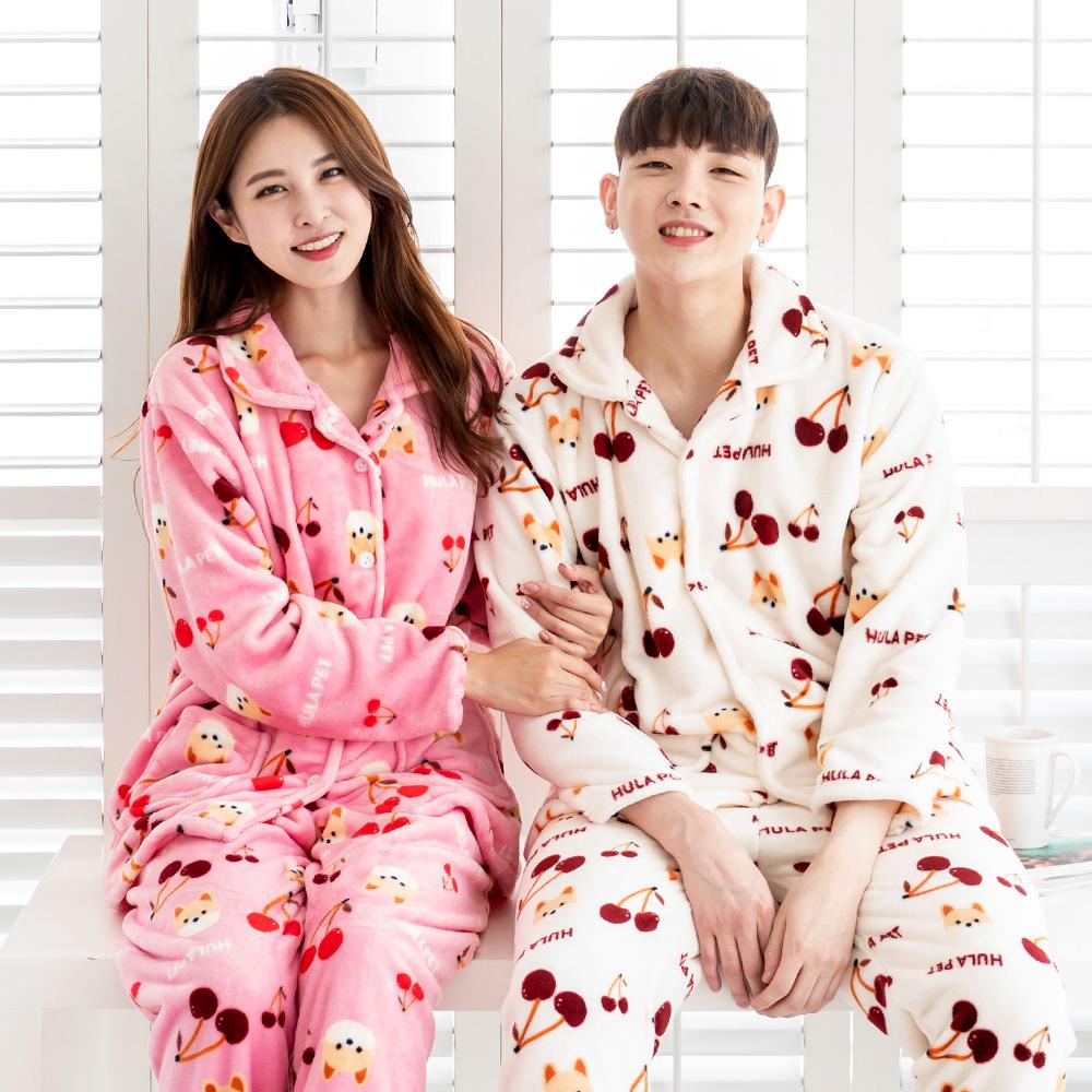 훌라펫 커플 수면잠옷 세트 시그니처 NO 1