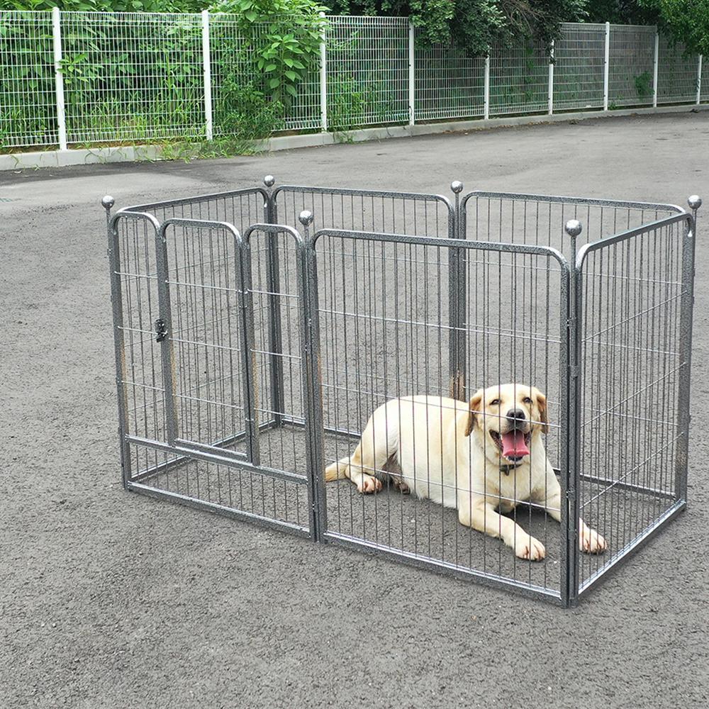 퍼피마인드 강아지 울타리, 실버레오파드 (POP 331164637)
