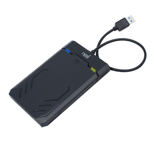 넥시 NX835 6.4cm HDD SSD 게이밍 외장하드 케이스 NX-Y3036