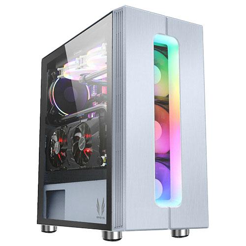 쓰리알시스템 RGB Esoresso CT PC케이스 S700CP, S700CP(화이트)