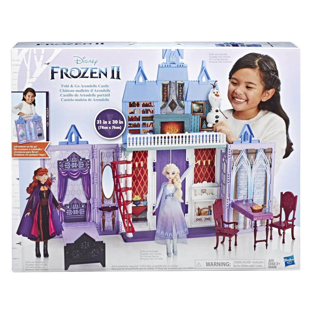 겨울왕국 2 아렌델 궁전 인형집세트, 혼합 색상