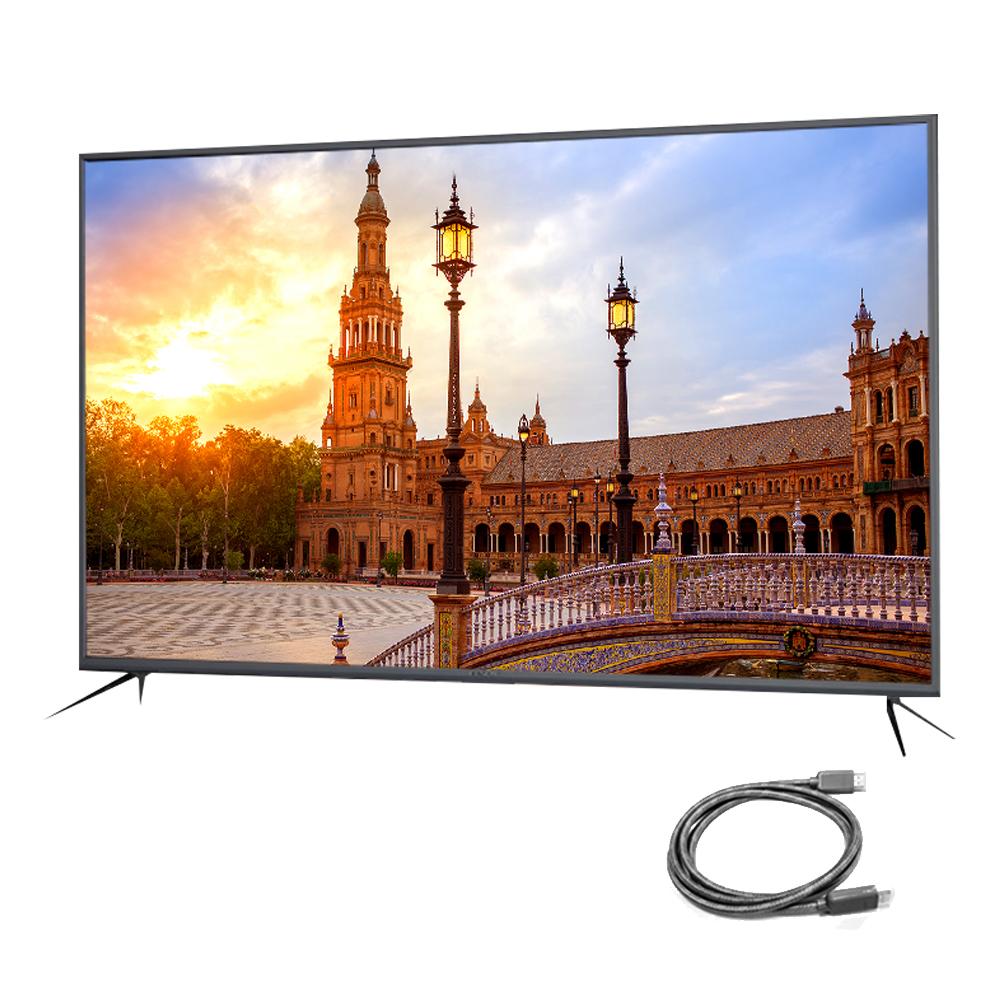 아티브 4K UHD HDR 138cm 스마트 TV AK550UDNTV + HDMI 케이블, 스탠드형, 자가설치