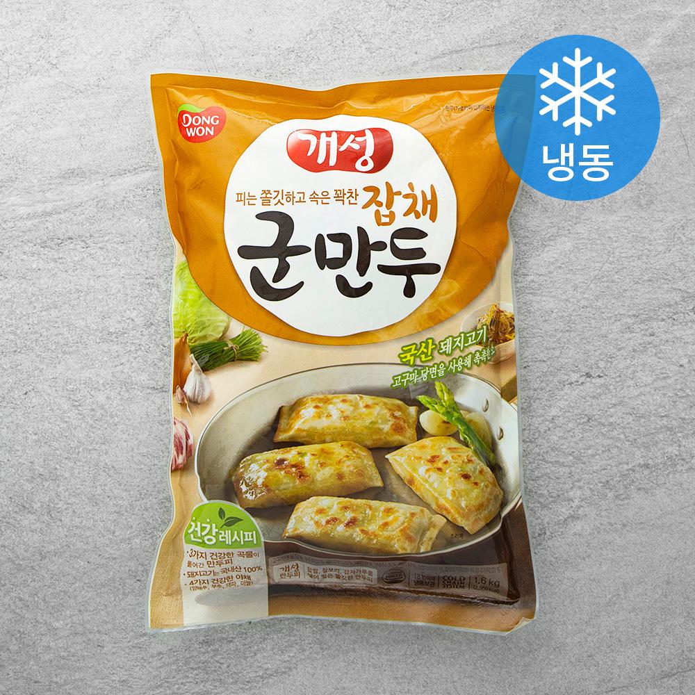 동원 신 개성잡채군만두 (냉동), 1.6kg, 1개