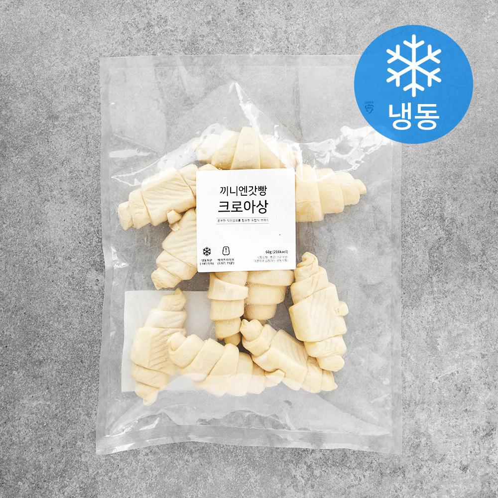 끼니엔갓빵 크로아상 10p (냉동), 600g, 1개
