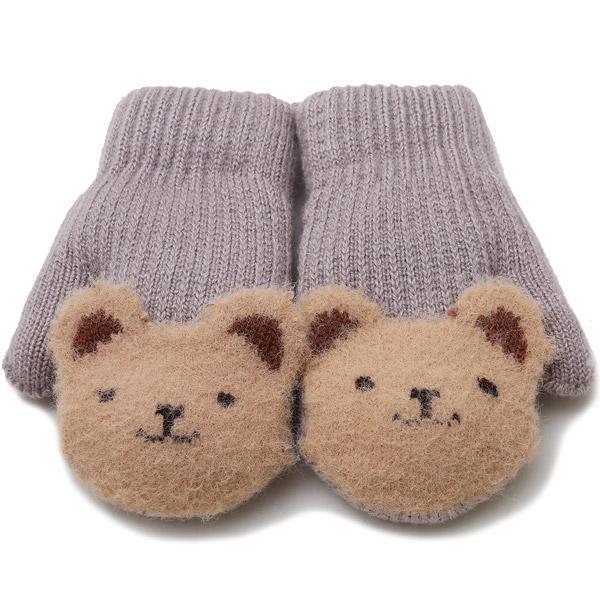 무슈 유아동용 삑삑이 동물 장갑