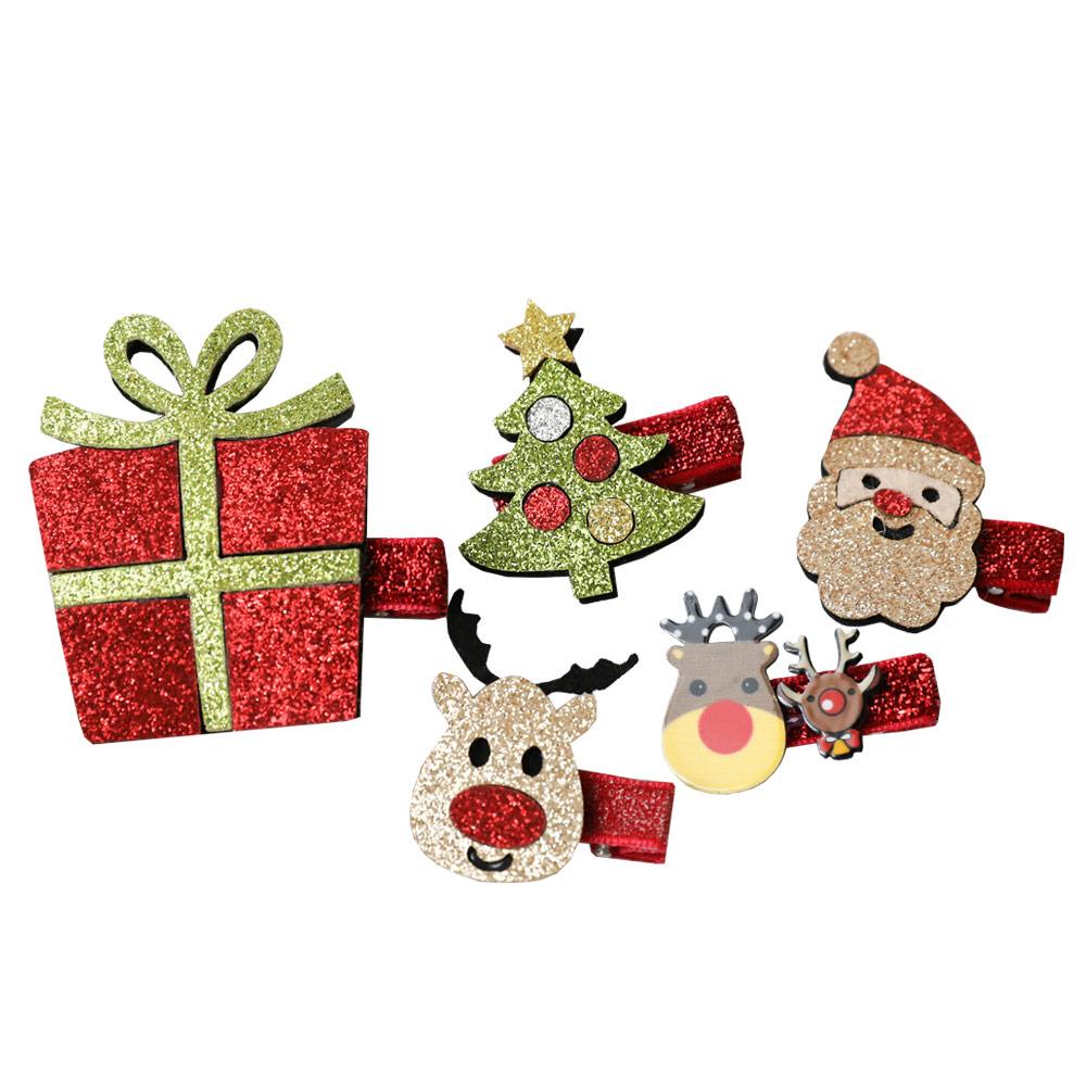 더헤르첸 아동용 크리스마스핀 5종 세트