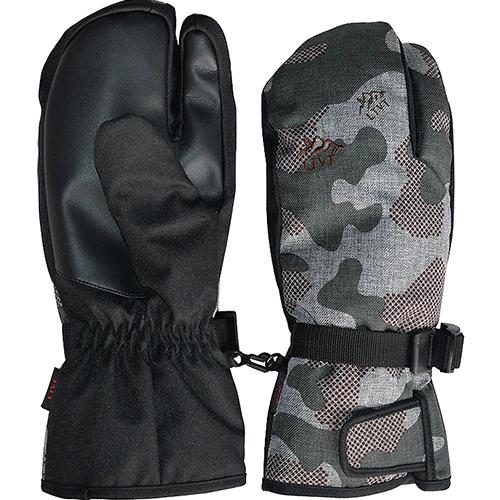 LTVT 터치 방한 스키장갑 손가락 + 벙어리 타입, 카모