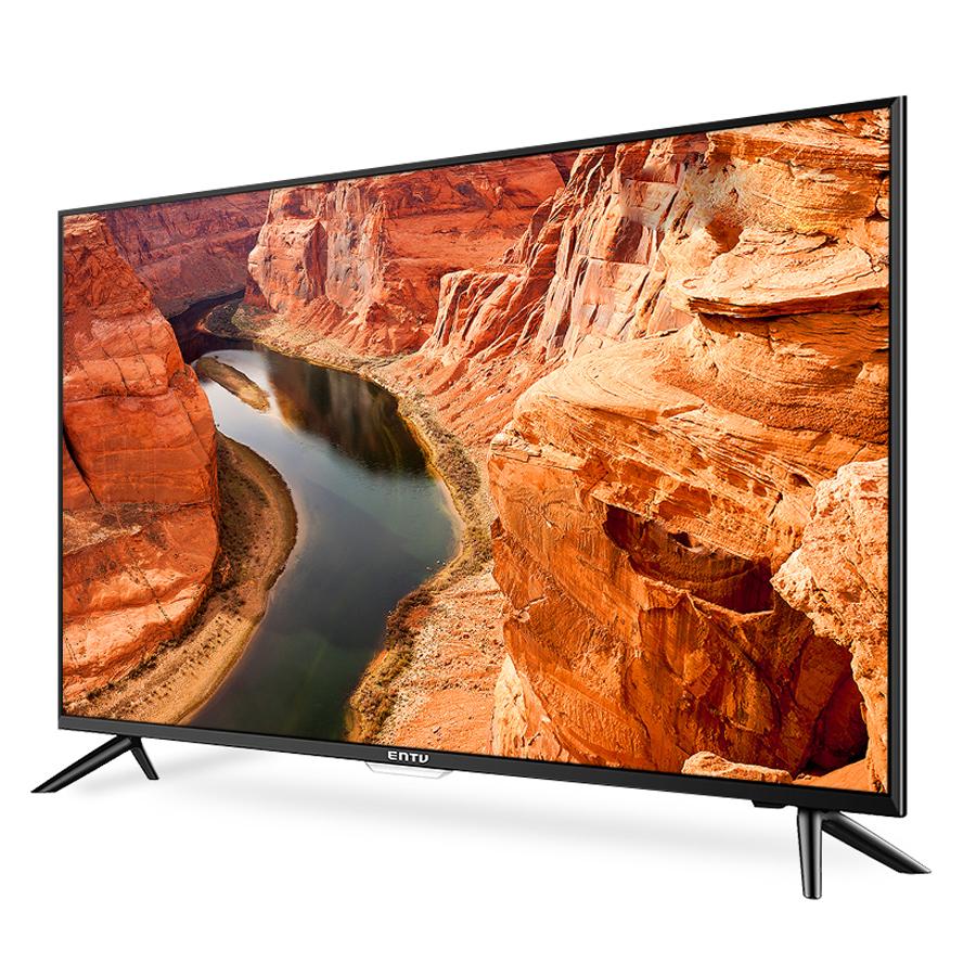 이엔티비 UHD DLED 109cm 4K 무결점 TV C430DIEN, 스탠드형, 자가설치