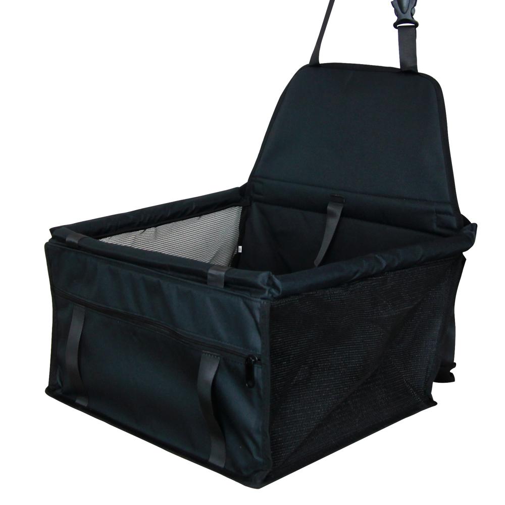 판도 PVC 신형 폴딩 강아지 카시트 고급형, 블랙, 1개