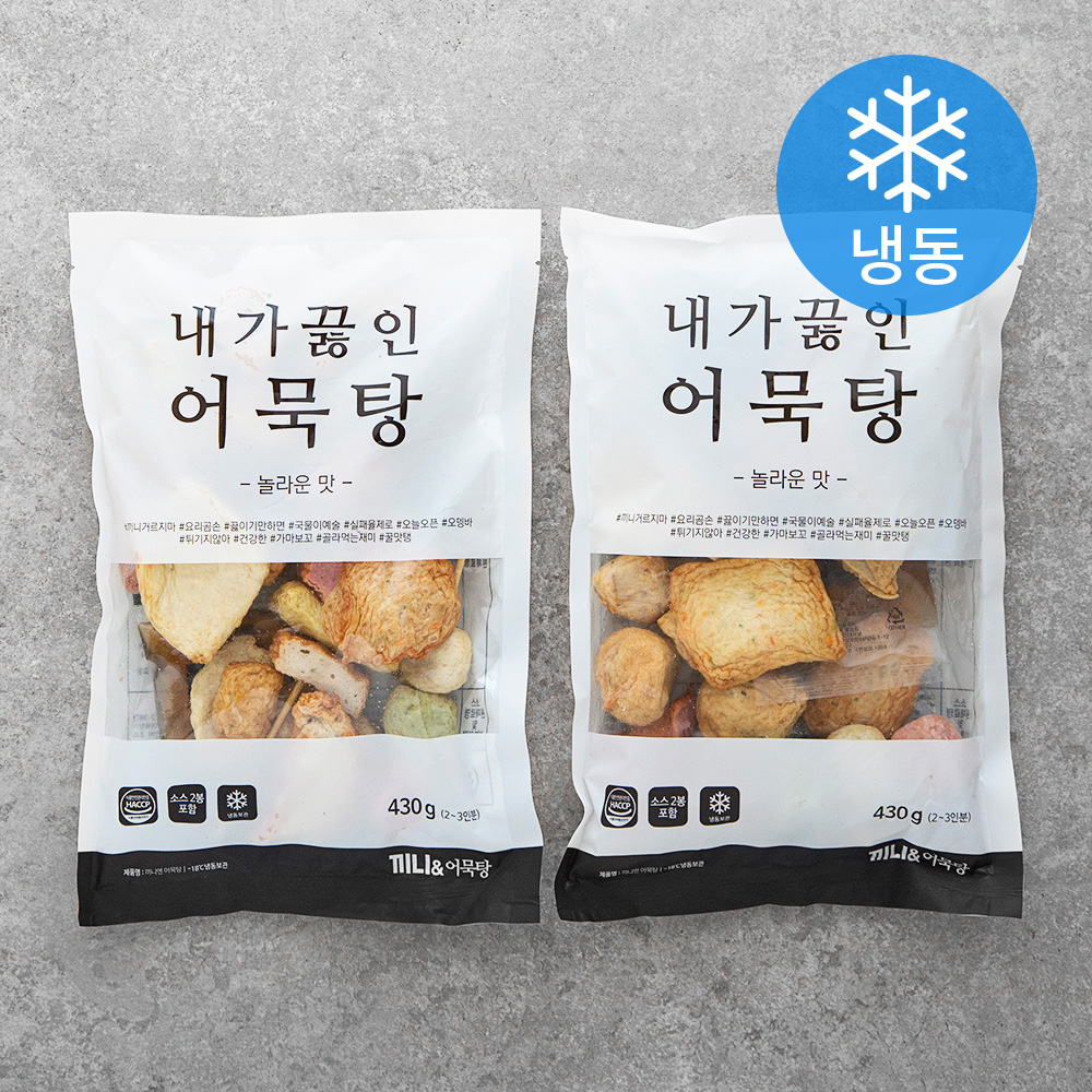 끼니엔 어묵탕 (냉동), 430g, 2개입