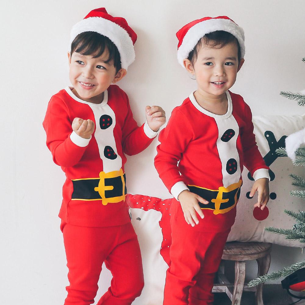 보보 아동용 내가 산타 20수 크리스마스 내의세트