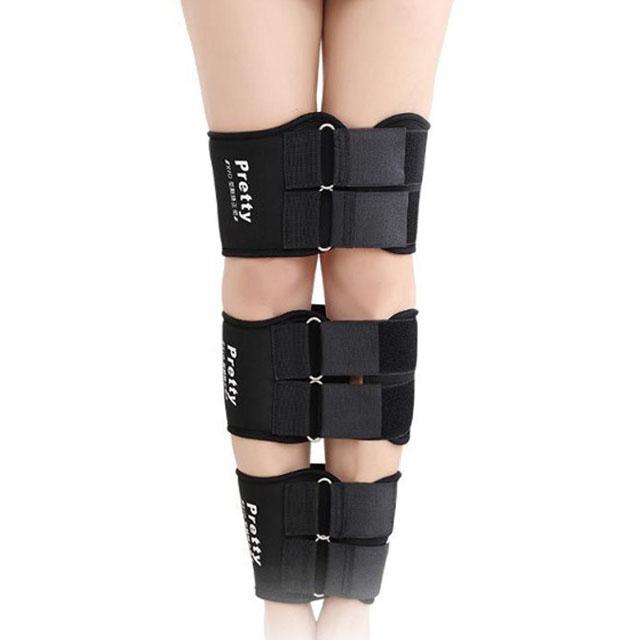 종아리벨트 + 무릎벨트 + 허벅지벨트 레그라인 고정세트 M, 1세트