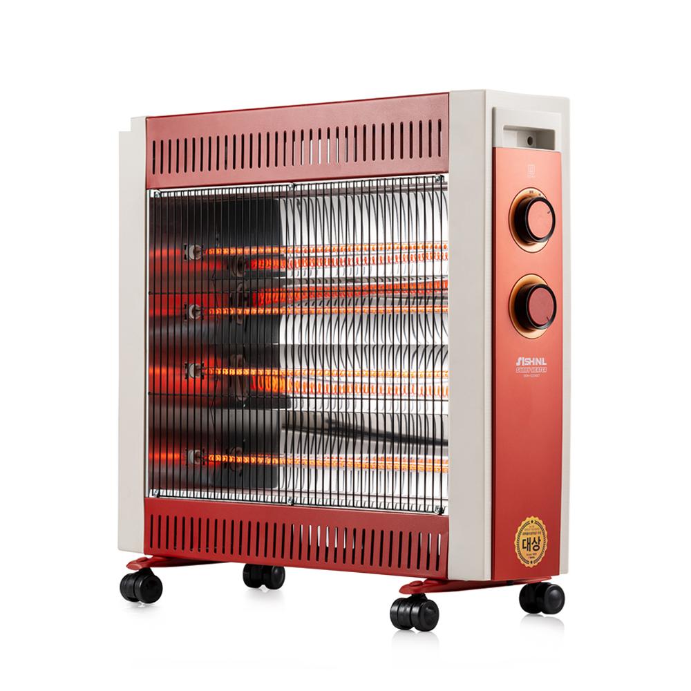 신일 원적외선 카본히터 전기난로 4단, SEH-PC260PW, 혼합 색상