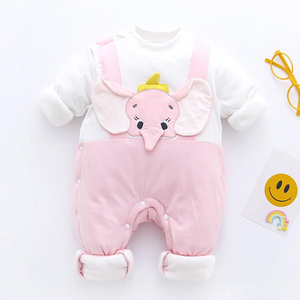 알럽베이비 코끼리 패딩 우주복