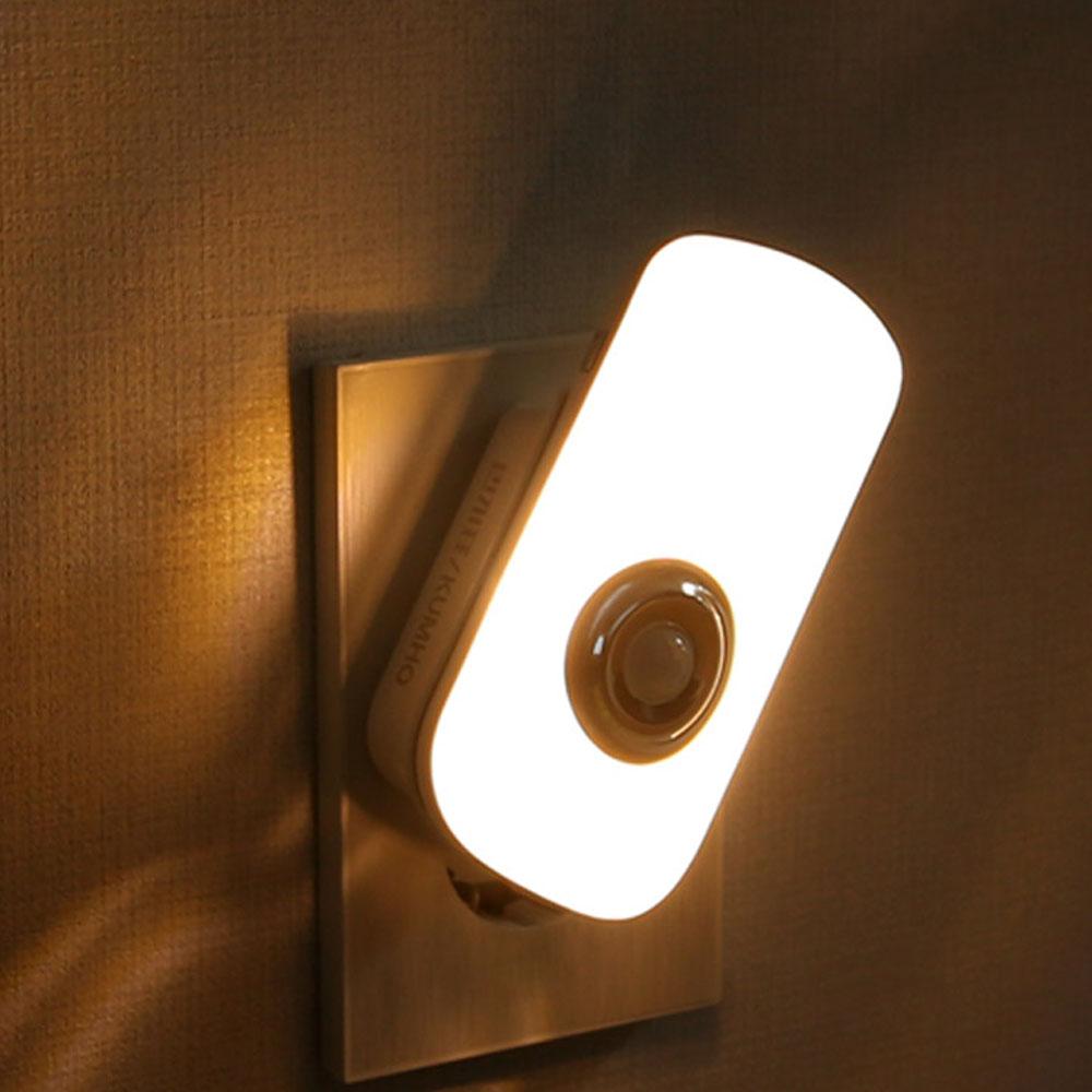 LED모션센서 취침등, 전구색
