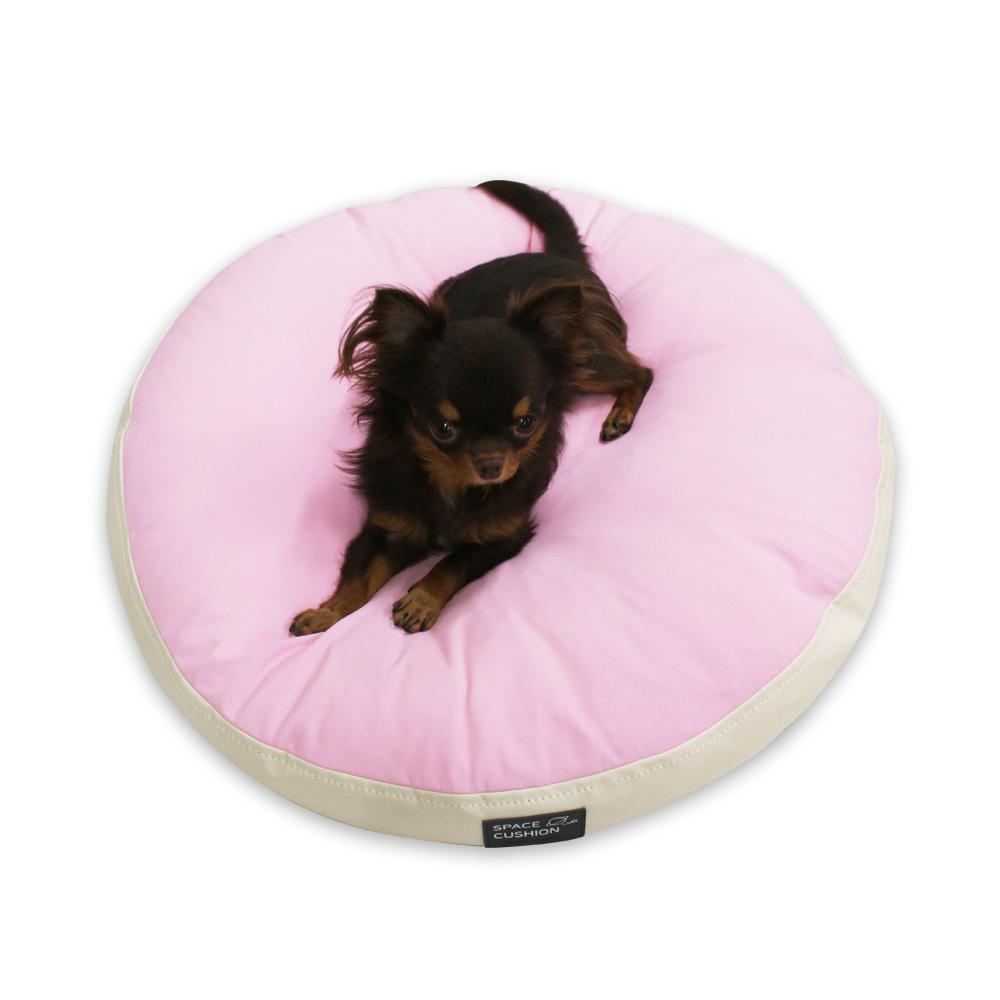 초코펫하우스 강아지 무중력 우주방석, 핑크