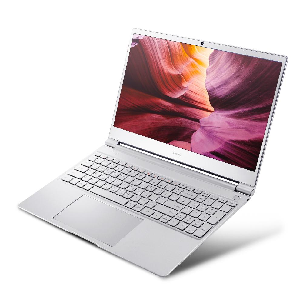 아이뮤즈 스톰북 15프로 (m3-6y30 39.6cm WIN미포함 8GB eMMC 64GB HD515), StormBook15 PRO, 실버그레이