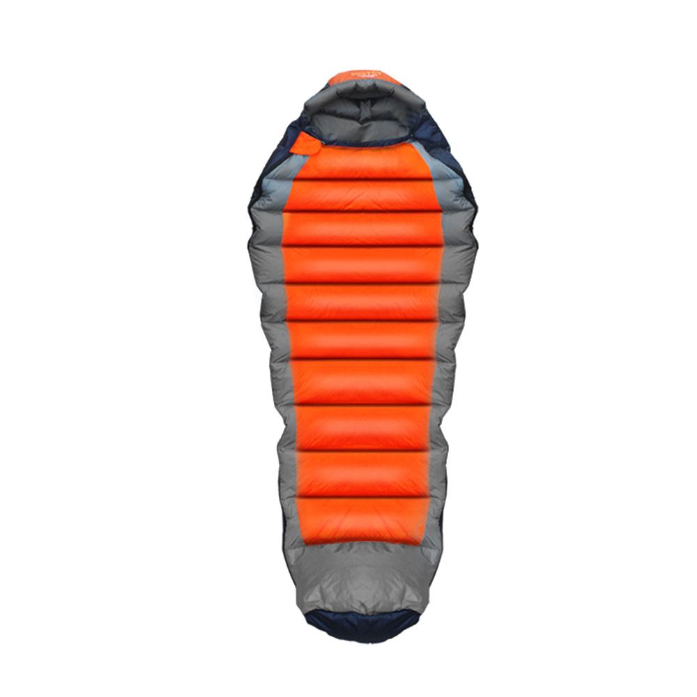 벅703 프로페셔널침낭 1600g, 오렌지, 1세트