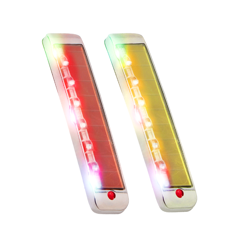 카템 태양광 LED 정전기 차량 문콕방지 도어가드, 혼합 색상, 2개