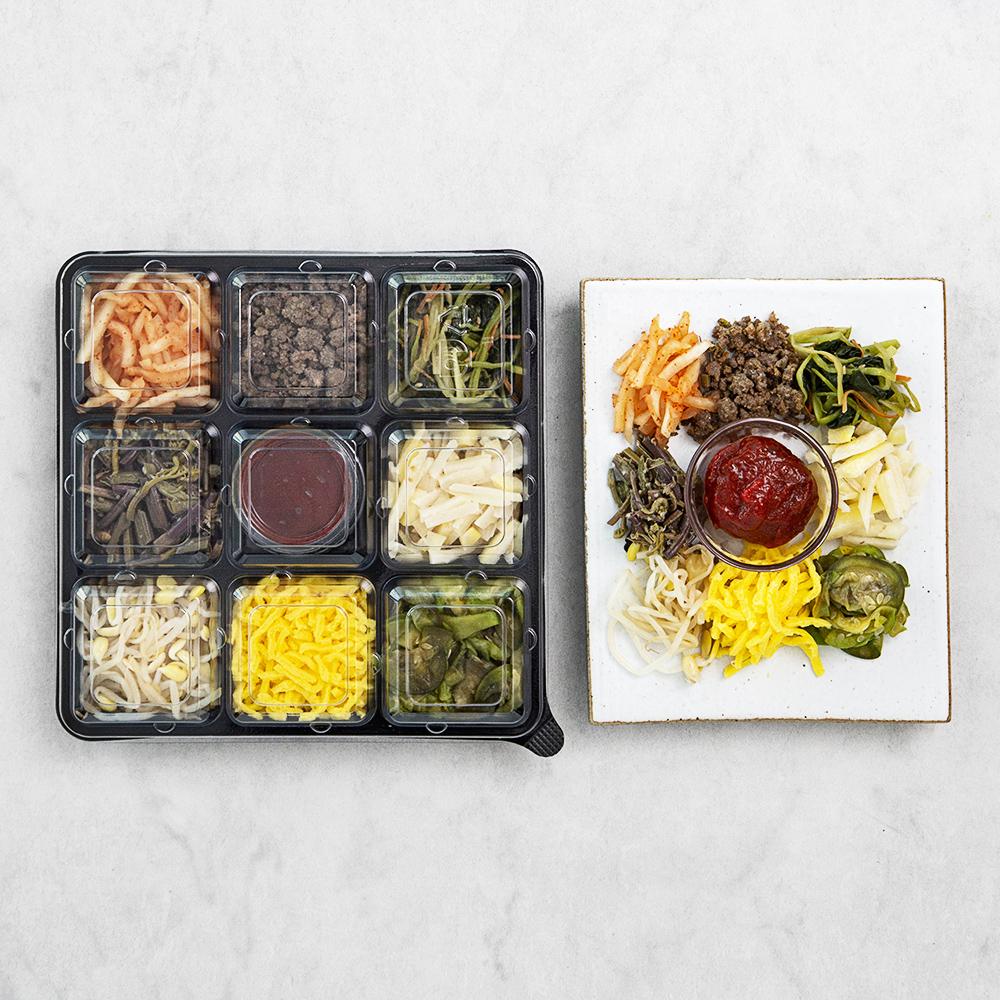 테이스티나인 전주식 비빔밥, 350g, 1개