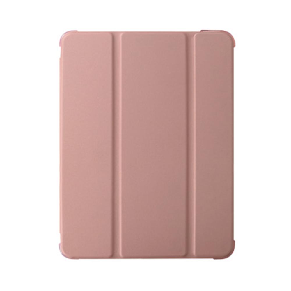 라이노 실키 스마트커버 반투명 소프트 태블릿PC 케이스, 인디 핑크