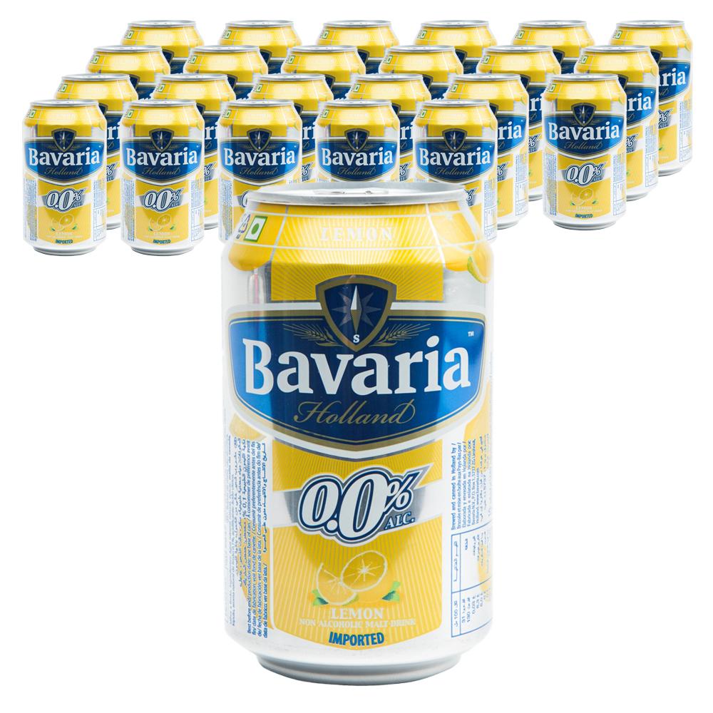 바바리아 무알콜맥주 레몬, 330ml, 24개