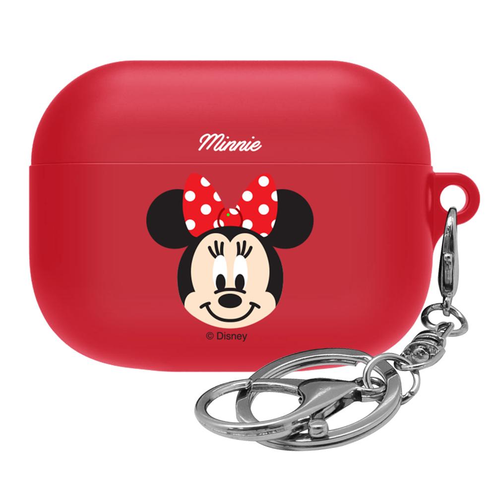 디즈니 페이스 에어팟 프로 이어폰 케이스, 단일 상품, 미니