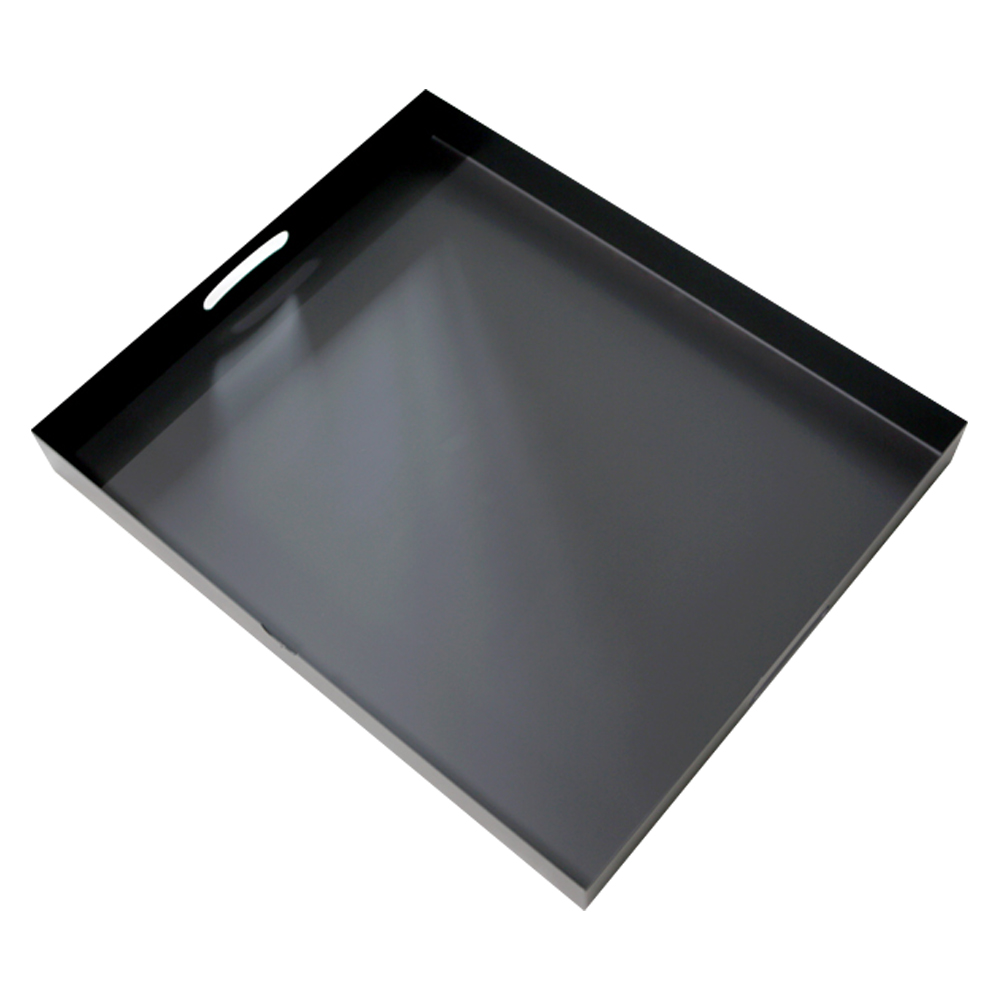 라샘 가스렌지덮개 쿡탑 인덕션받침 65 x 54 x 7 cm, 블랙, 1개
