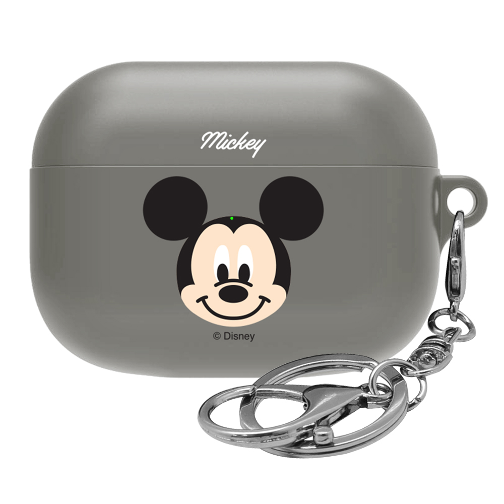 디즈니 페이스 에어팟 프로 이어폰 케이스, 단일 상품, 미키