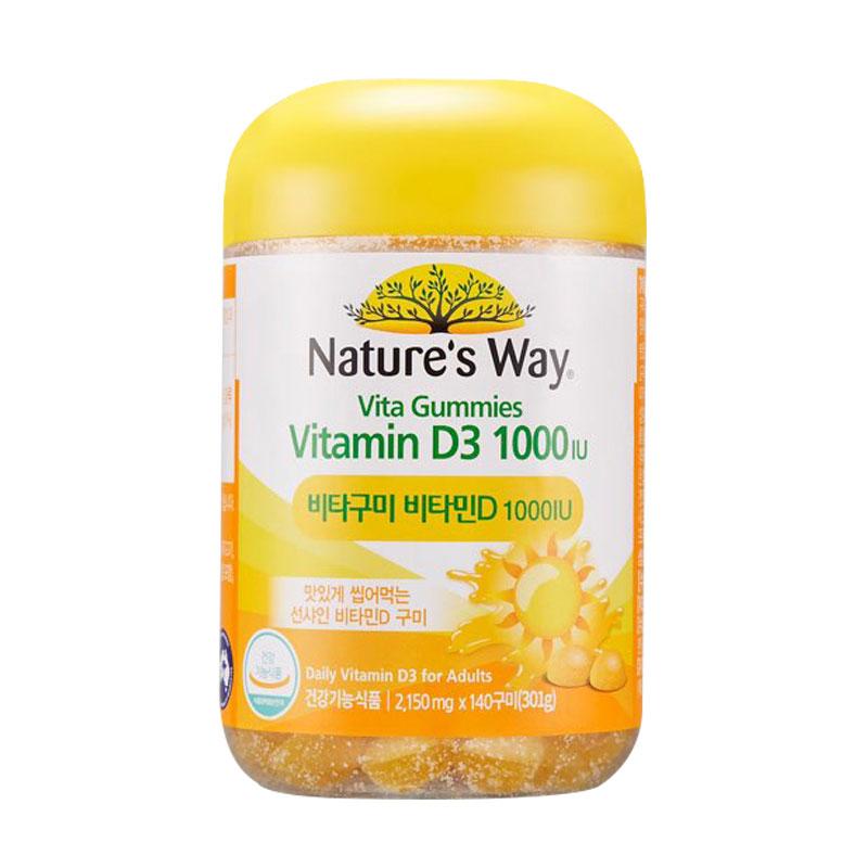네이처스웨이 비타구미 비타민D 1000IU, 140정, 1개