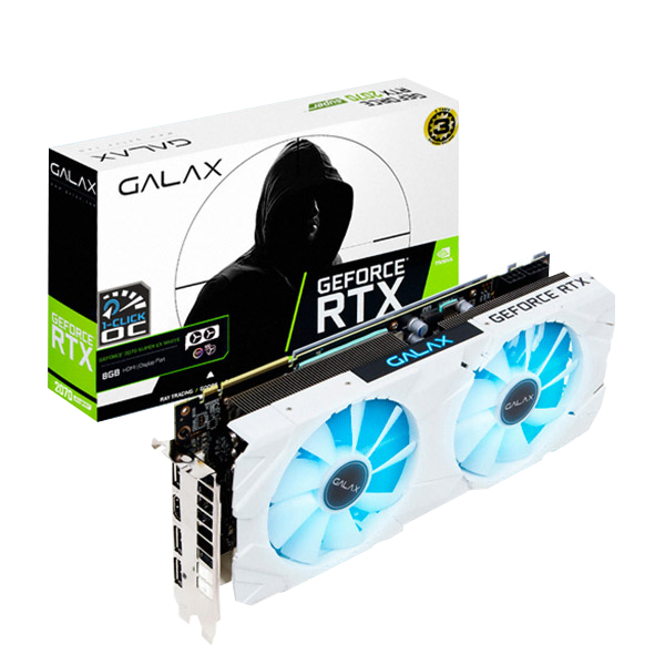 갤럭시 GALAX 지포스 RTX2070 SUPER EX WHITE OC D6 8GB