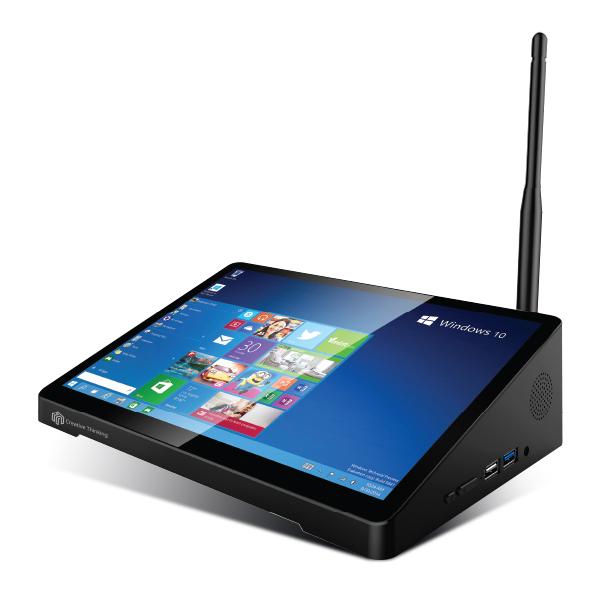 씽크웨이 미니PC Z108 (Atom X5 Z8350 25.4cm WIN10 RAM 4GB eMMC 64GB 터치화면), 기본형