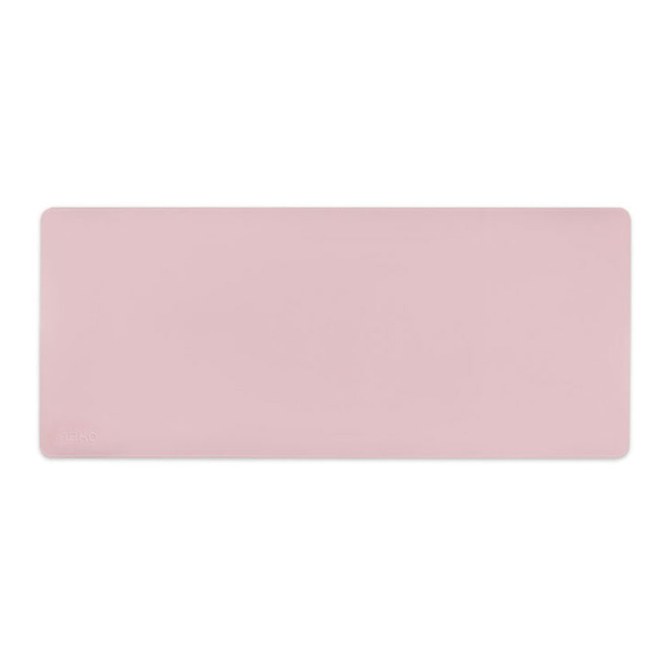 앱코 가죽 파스텔 데스크 롱 마우스패드, 핑크, 1개