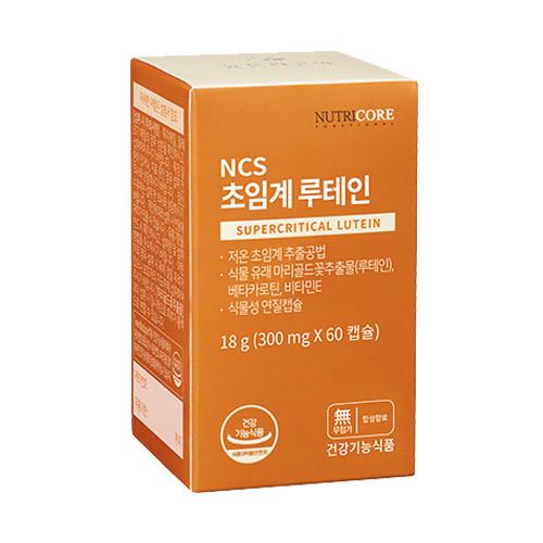 뉴트리코어 NCS 초임계루테인, 60정, 1개